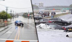 EEUU: se registran inundaciones y tornados en Austin por fuertes tormentas