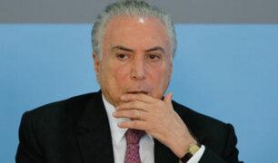 Brasil: Tribunal Federal ordenó que el expresidente Michel Temer vuelva a prisión