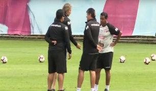 Selección Peruana sub 23: Gareca estuvo presente en entrenamientos