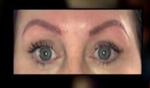 Microblading: nueva tendencia de maquillaje podría ser peligrosa para la salud
