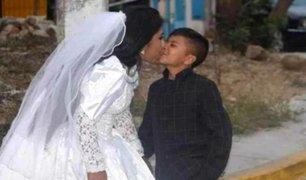 Conoce la historia de la boda de un ''niño'' en México