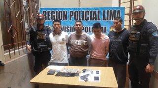 Capturan a delincuentes que intentaron asaltar academia prepolicial en Comas