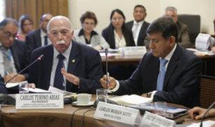 Ministro Morán acepta disculpas de congresista Tubino por frases contra la Diviac