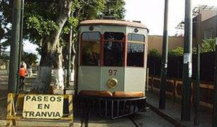 Plan Maestro contempla funcionamiento de tranvías en el Centro Histórico de Lima