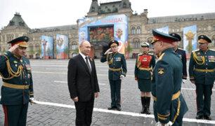 Rusia conmemoró el Día de la Victoria con un imponente desfile militar