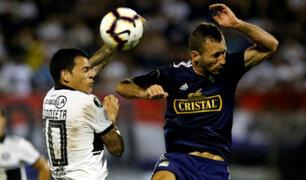 Cristal derrotó a Olimpia en Paraguay y jugará la Sudamericana