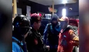 Miraflores: detienen a trabajador de grifo con celular robado