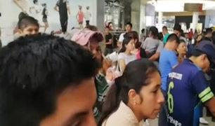 Largas filas en plataformas virtuales de Reniec por huelga de trabajadores