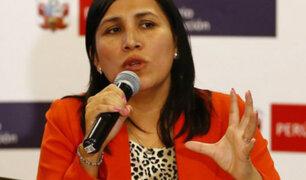 Ministra de Educación criticó al Congreso por obstaculizar su labor