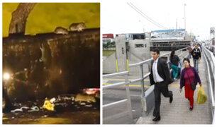 Decenas de roedores invaden calles aledañas de concurrida estación del Metropolitano