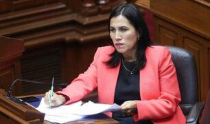 Ministra Flor Pablo asegura que su esposo nunca asesoró al Minedu