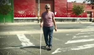 Ciudadano invidente pide ayuda para ubicar a su perro guía desaparecido