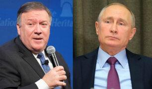 Mike Pompeo viajará a Rusia para reunirse con Vladimir Putin