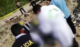Ica: dinamitan la cabeza de un sujeto buscado por caso de robo