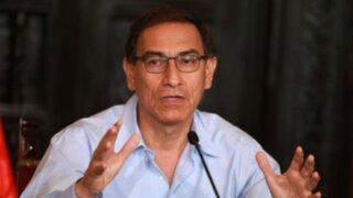 Vizcarra: Interpelación a ministra permitió aclarar objetivos en educación