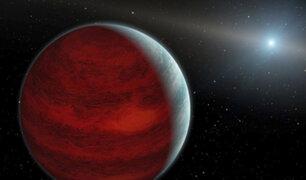 Descubren un planeta 13 veces más grande que Júpiter