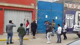 La Victoria: un muerto y dos heridos deja accidente en fábrica de telas