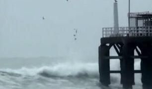 COEN: cerrarán temporalmente 32 puertos y terminales a nivel nacional por fuertes oleajes