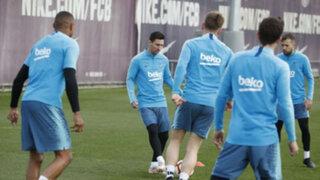 Messi volvió: 'La Pulga' se sumó a entrenamientos del Barcelona