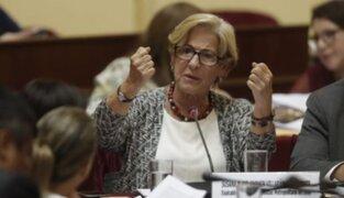 Susana Villarán admite que fue un error aceptar dinero de constructoras