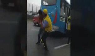 Conductor informal agrede a inspector municipal con un desarmador