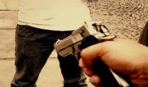 Ola de asaltos | Pueblo Libre: delincuentes disparan a joven en la pierna