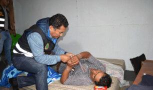 SMP: rescatan a exalcalde de Oxamarca que había sido secuestrado
