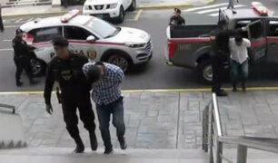 Los Olivos: intervienen a cuatro personas cuando planeaban asaltar una agencia bancaria