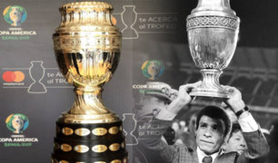 El trofeo de la Copa América llegará a Lima