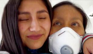 Historia ejemplar: hija dona riñón a su madre para salvar su vida