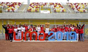 Lima 2019: entregan estadio de softbol para los Juegos Panamericanos