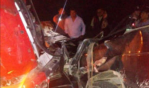 Arequipa: accidente de tránsito deja seis agricultores muertos en Islay