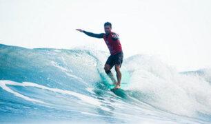 Lima 2019: Piccolo Clemente pasó a la semifinal de longboard masculino