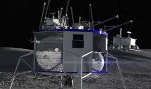 EEUU: presentan nave 'Blue Moon' para volver a la Luna