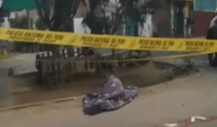 SJM: asesinos de ciudadano extranjero habrían seguido a su víctima