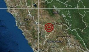 Junín: sismo de magnitud 3.6 alarmó a vecinos de Huancayo