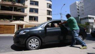 Capturan a vendedor de caramelos que robaba autopartes en Miraflores