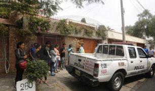 Asesino de La Molina mató a sus tres víctimas con el arma del dueño