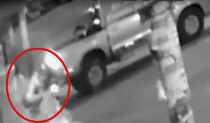 Los Olivos: Policía registra robo de cajero automático bajo la modalidad del 'arrastre'