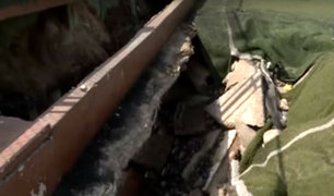 La Punta: fuerte oleaje anómalo afectó losa deportiva en Chucuito