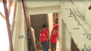 Disputa por demolición de escalera en galería del Centro de Lima