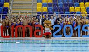 Lima 2019: inauguran moderno centro acuático para los Juegos Panamericanos