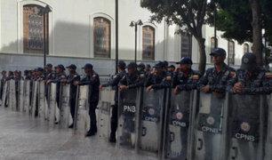 SEBIN toma la Asamblea Nacional venezolana por supuesta amenaza de bomba
