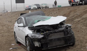 Cañete: fatal accidente deja tres fallecidos en Panamericana Sur