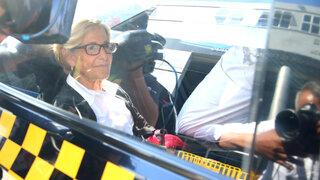 Susana Villarán fue trasladada a la carceleta del Poder Judicial