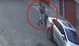 Los Olivos:  mismos delincuentes roban solo a mujeres y a mano armada