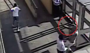 Lima Sur: cámaras de Corte Superior captan momento de balacera