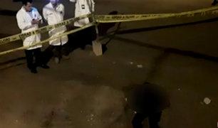 Puente Piedra: hombre es asesinado a balazos por presuntos sicarios