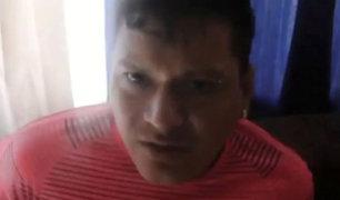 Santa Anita: intervenido dijo que vendía droga por su hijo enfermo