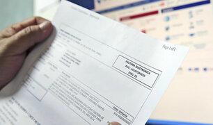 Congreso dispondrá que facturas se paguen en 30 días calendario como máximo